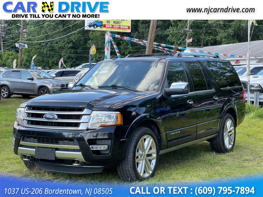 Used Ford Expedition EL Platinum 4WD 2016 | Car N Drive. Bordentown, New Jersey