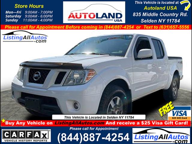 Used Nissan Frontier  2012   www.ListingAllAutos.com. Patchogue, New York