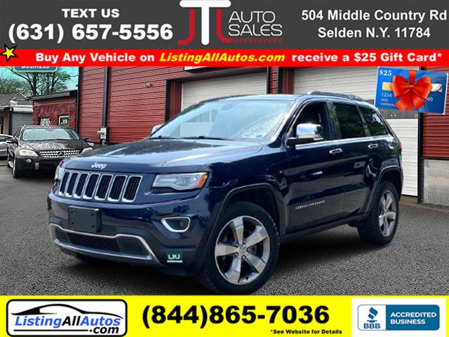 Used 2014 Jeep Grand Cherokee in Patchogue, New York | www.ListingAllAutos.com. Patchogue, New York