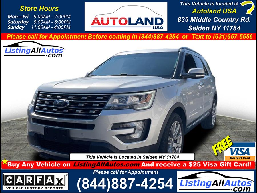Used 2016 Ford Explorer in Patchogue, New York | www.ListingAllAutos.com. Patchogue, New York