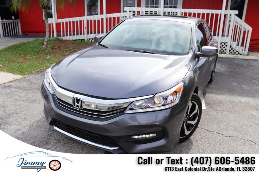 Used Honda Accord Sedan EX-L CVT 2017 | Jimmy Motor Car Company Inc. Orlando, Florida
