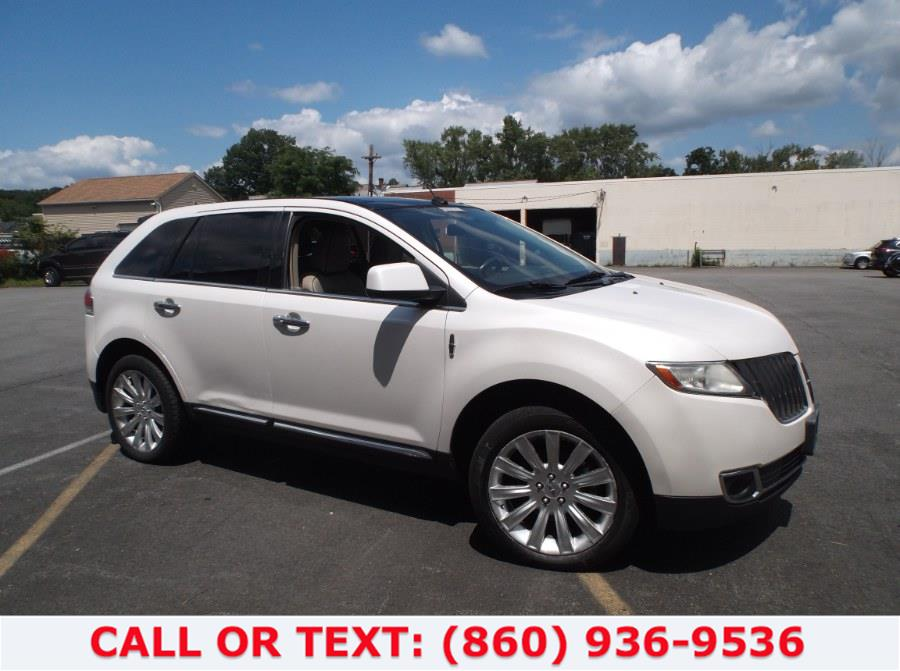 Used Lincoln MKX AWD 4dr 2011   Lee Motors Sales Inc. Hartford, Connecticut