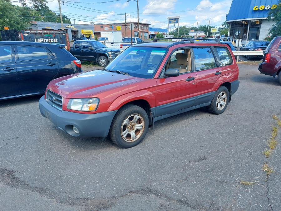 Used Subaru Forester 4dr 2.5 X Auto 2003 | Chadrad Motors llc. West Hartford, Connecticut