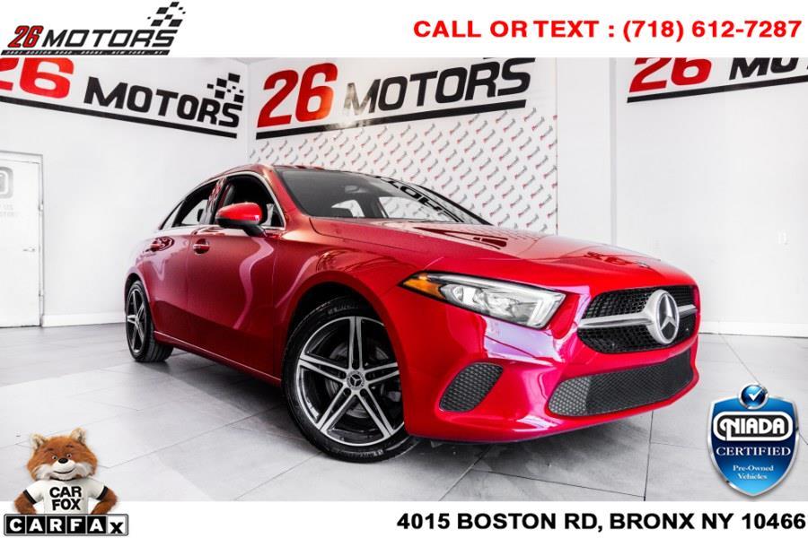 Used Mercedes-Benz A-Class A 220 4MATIC Sedan 2019 | 26 Motors Corp. Bronx, New York