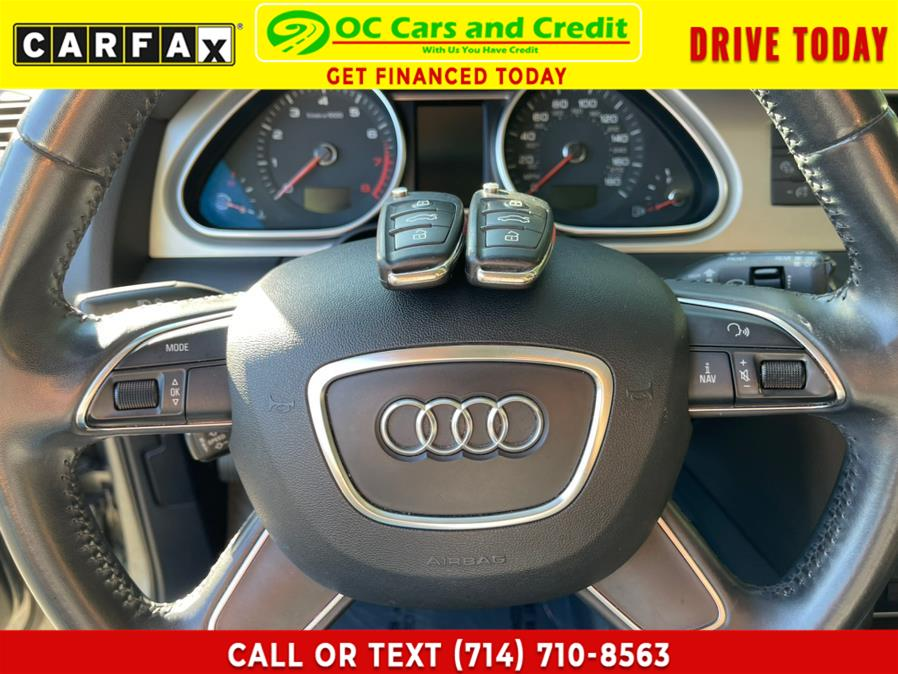 Used Audi Q7 quattro 4dr 3.0T Premium Plus 2014   OC Cars and Credit. Garden Grove, California