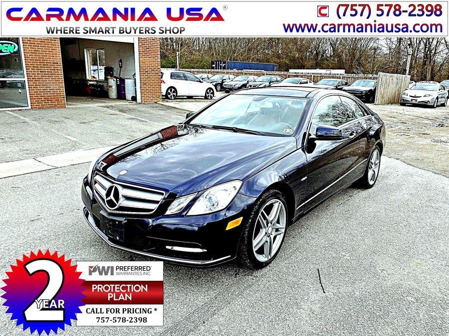 Used Mercedes-benz E-class E 350 Coupe 2D 2012 | Carmania USA. Chesapeake, Virginia