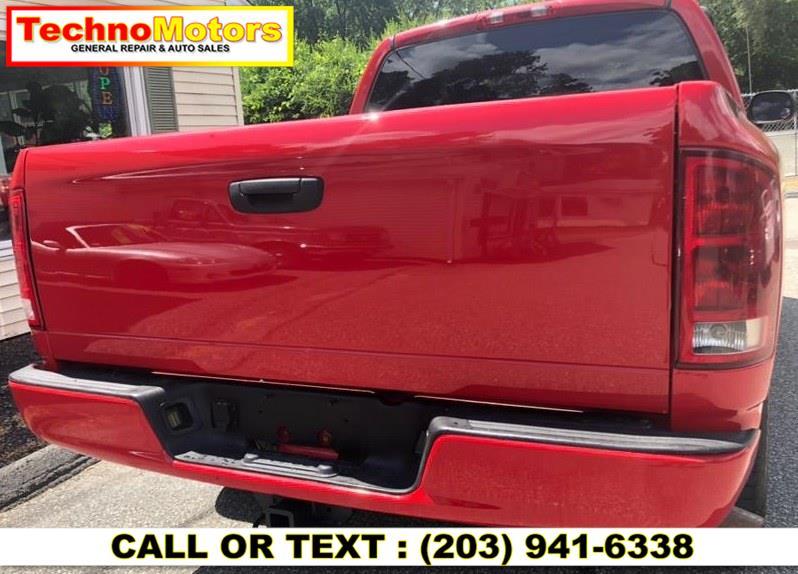 "Used Dodge Ram 1500 4dr Quad Cab 140.5"" WB 4WD SLT 2004 | Techno Motors . Danbury , Connecticut"