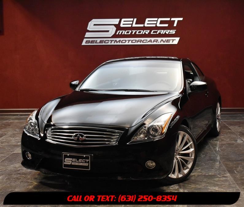 Used 2012 Infiniti G37 Convertible in Deer Park, New York | Select Motor Cars. Deer Park, New York