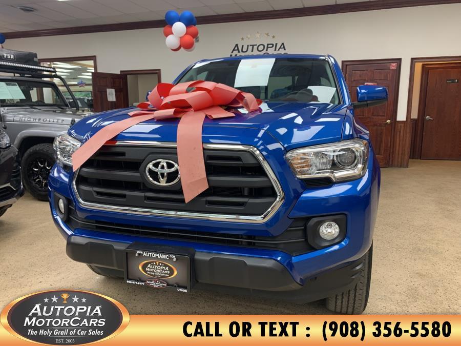 Used Toyota Tacoma SR5 Access Cab 6'' Bed I4 4x4 AT (Natl) 2017 | Autopia Motorcars Inc. Union, New Jersey