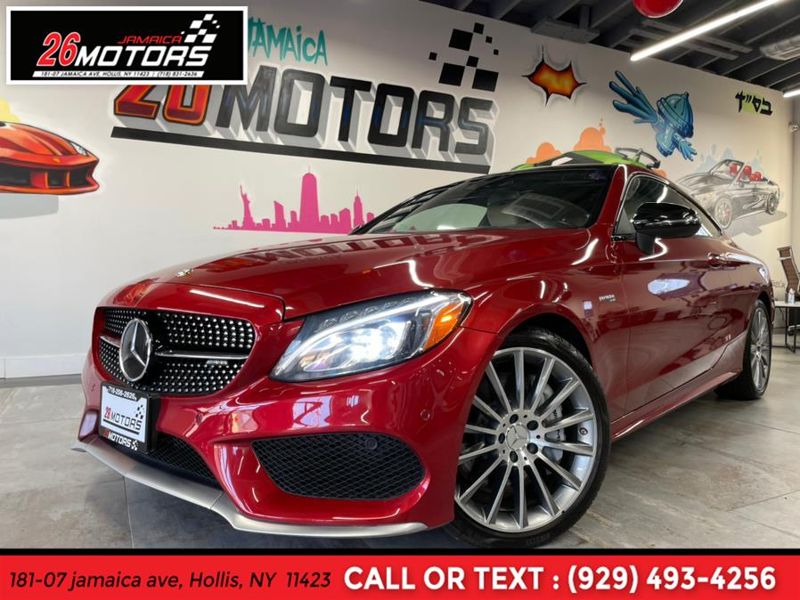 Used Mercedes-Benz C-Class ///AMG AMG C 43 4MATIC Coupe 2017   Jamaica 26 Motors. Hollis, New York
