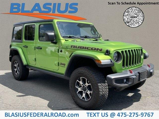 Used Jeep Wrangler Unlimited Rubicon 2019 | Blasius Federal Road. Brookfield, Connecticut