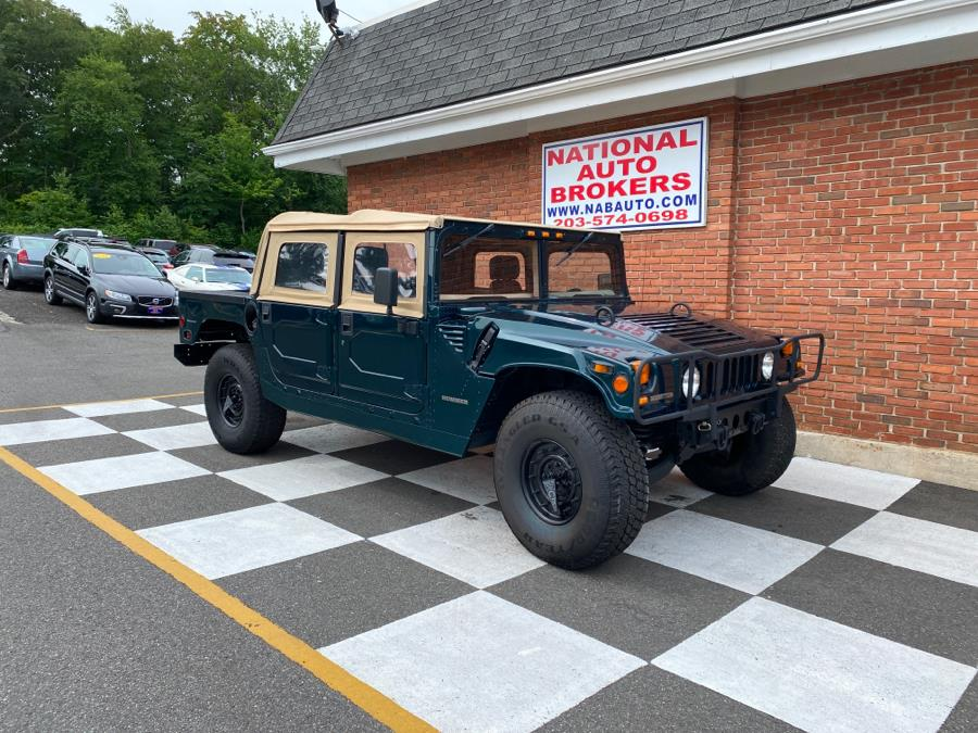 Used AM General Hummer 4dr Open Top Hard Doors 1995 | National Auto Brokers, Inc.. Waterbury, Connecticut