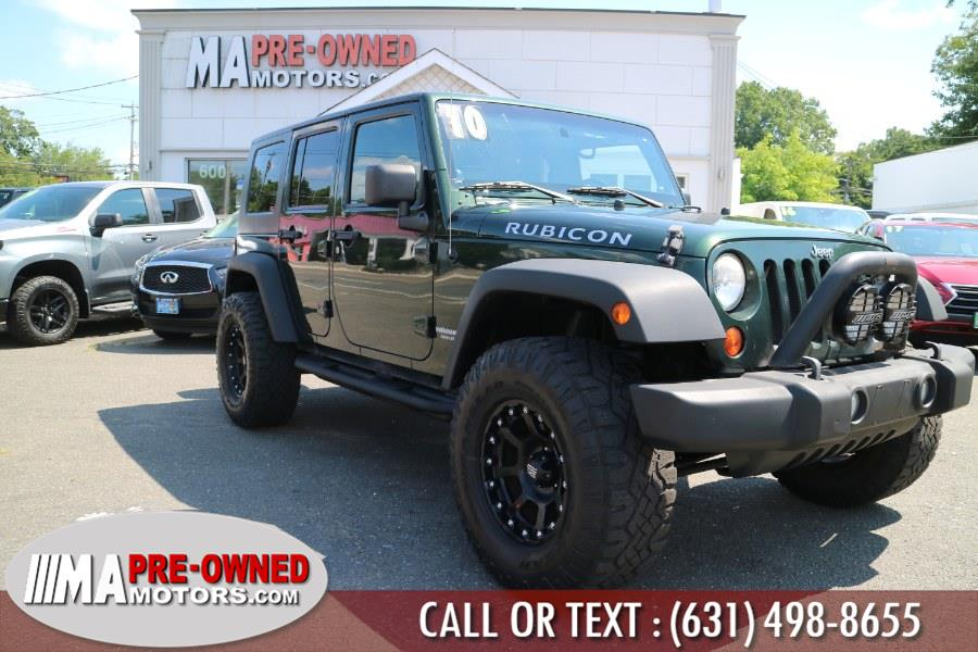 Used Jeep Wrangler Unlimited rubicon 4WD 4dr Rubicon 2010   M & A Motors. Huntington, New York