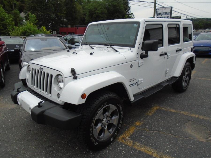 Used Jeep Wrangler Unlimited 4WD 4dr Sahara 2016 | Jim Juliani Motors. Waterbury, Connecticut