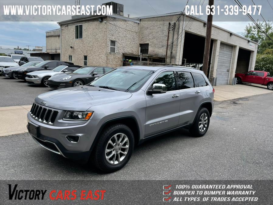 Used Jeep Grand Cherokee 4WD 4dr Limited 2014 | Victory Cars East LLC. Huntington, New York