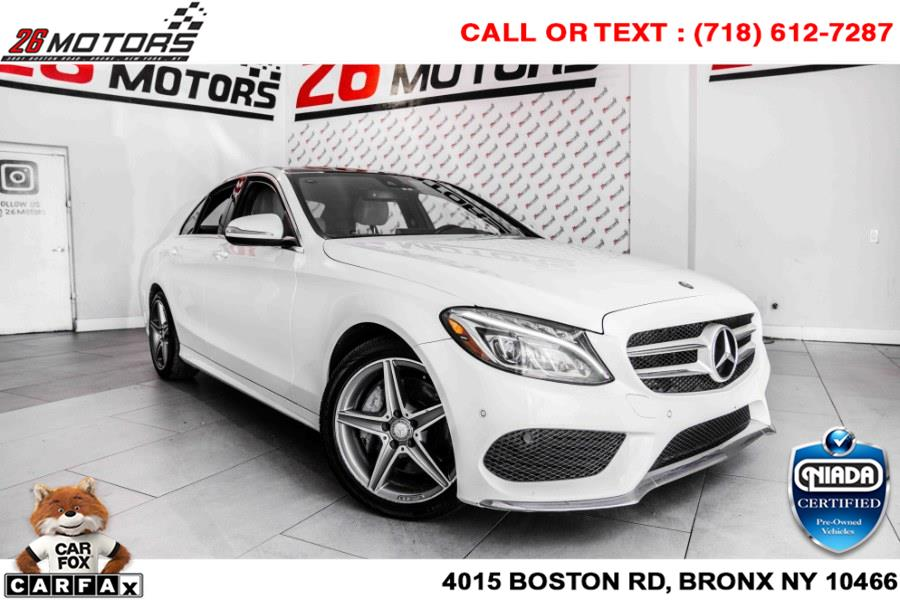 Used Mercedes-Benz C-Class 4dr Sdn C 400 4MATIC 2015   26 Motors Corp. Bronx, New York