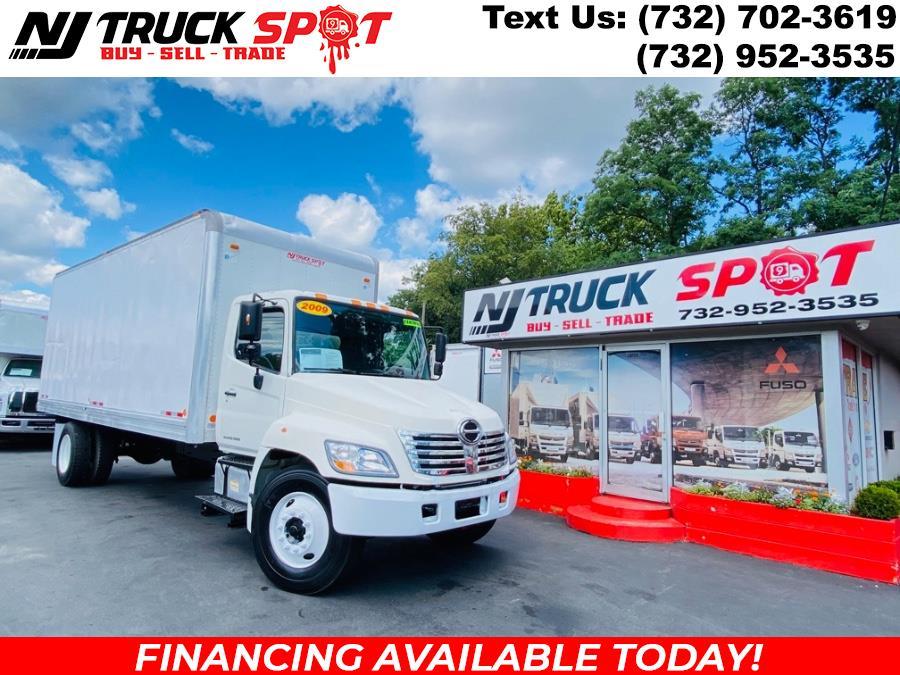 Used HINO 268 22 FEET BOX TRUCK + NO CDL 2009   NJ Truck Spot. South Amboy, New Jersey
