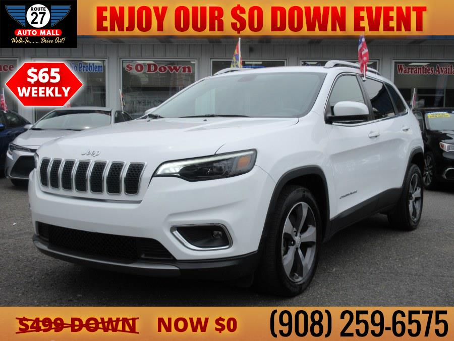 Used 2020 Jeep Cherokee in Linden, New Jersey   Route 27 Auto Mall. Linden, New Jersey