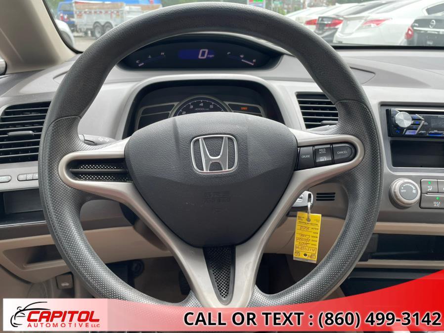 Used Honda Civic Sdn 4dr Auto LX 2009   Capitol Automotive 2 LLC. Manchester, Connecticut