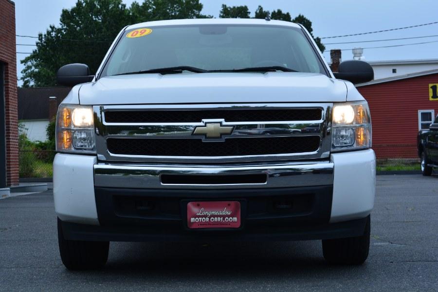 "Used Chevrolet Silverado 1500 4WD Ext Cab 157.5"" Work Truck 2009 | Longmeadow Motor Cars. ENFIELD, Connecticut"