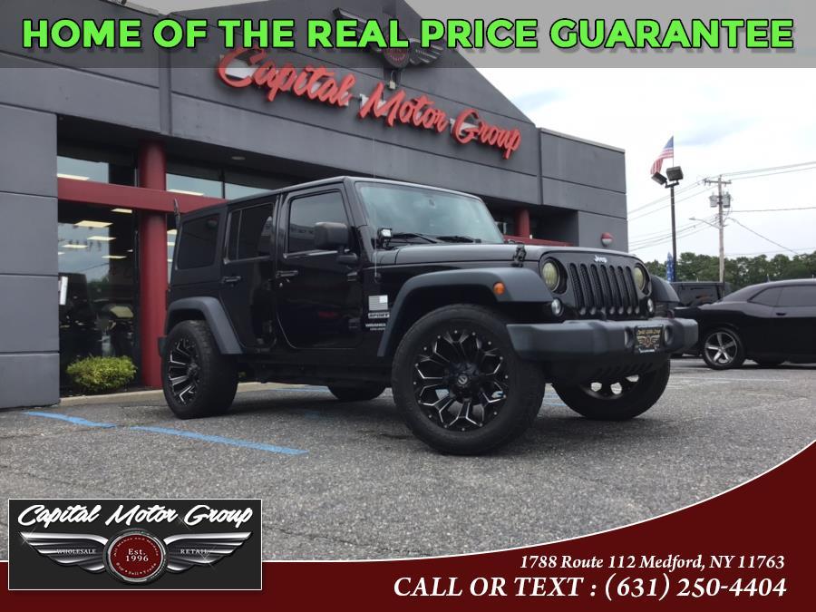 Used 2016 Jeep Wrangler Unlimited in Medford, New York | Capital Motor Group Inc. Medford, New York