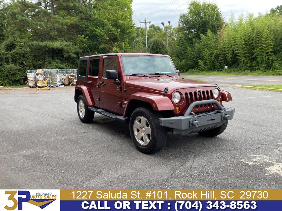 Used Jeep Wrangler Unlimited 4WD 4dr Sahara 2009 | 3 Points Auto Sales. Rock Hill, South Carolina