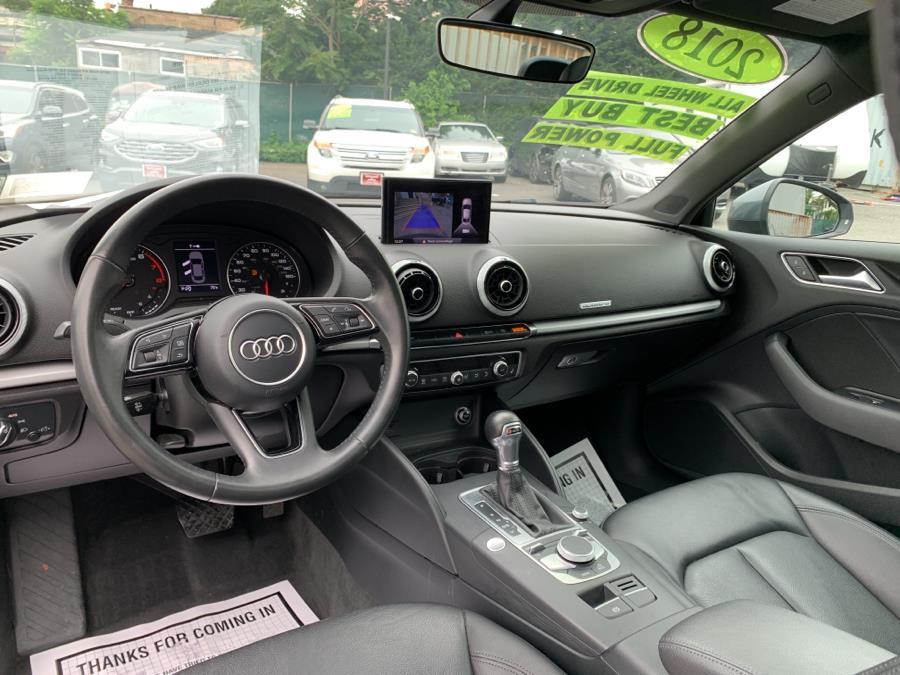 Used Audi A3 Sedan 2.0 TFSI Premium quattro AWD 2018 | Auto Haus of Irvington Corp. Irvington , New Jersey
