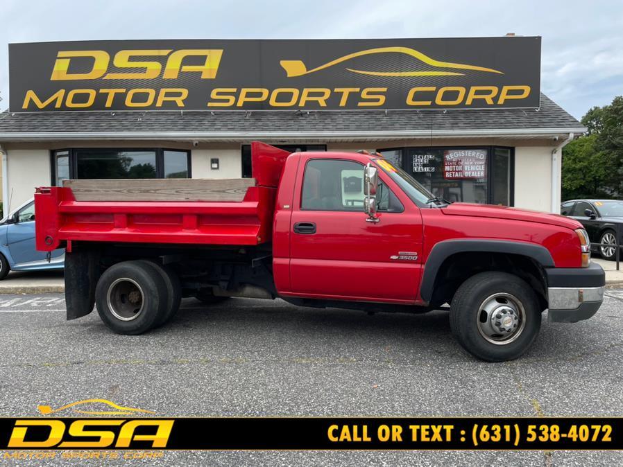 "Used Chevrolet Silverado 3500 Reg Cab 137.0"" WB, 60.4"" CA 2004 | DSA Motor Sports Corp. Commack, New York"