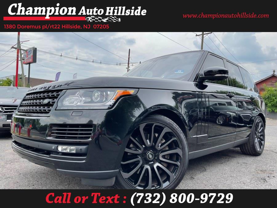 Used 2014 Land Rover Range Rover in Hillside, New Jersey | Champion Auto Sales. Hillside, New Jersey