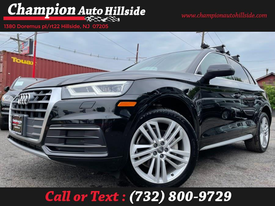 Used 2018 Audi Q5 in Hillside, New Jersey | Champion Auto Sales. Hillside, New Jersey