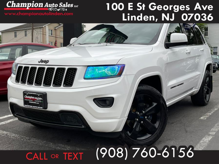 Used 2015 Jeep Grand Cherokee in Linden, New Jersey | Champion Auto Sales. Linden, New Jersey