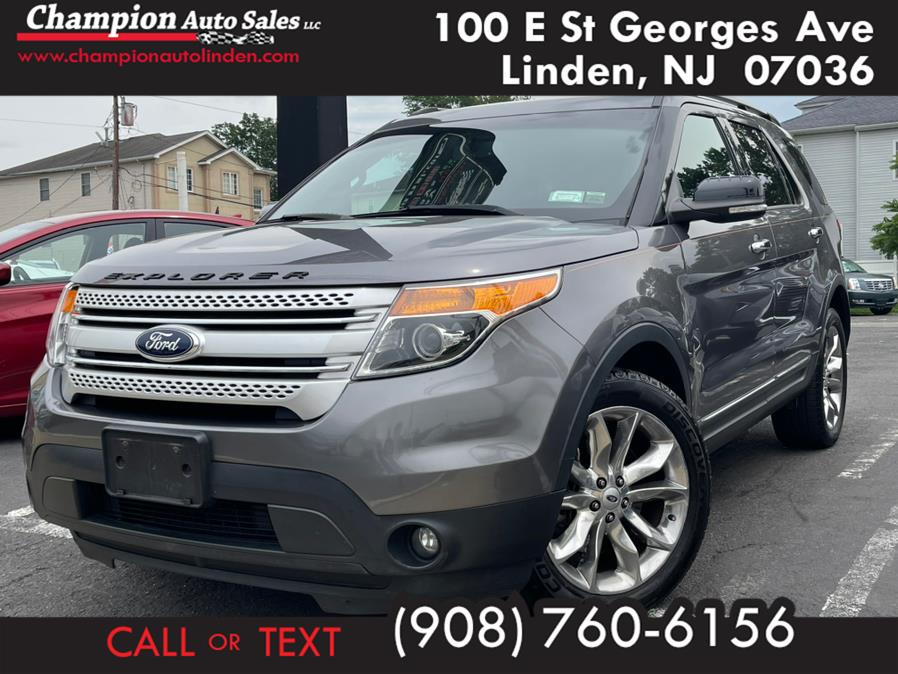 Used 2014 Ford Explorer in Linden, New Jersey | Champion Auto Sales. Linden, New Jersey