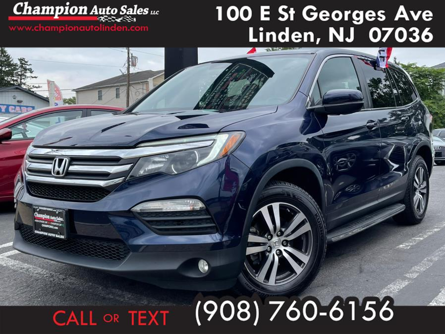 Used 2018 Honda Pilot in Linden, New Jersey | Champion Auto Sales. Linden, New Jersey