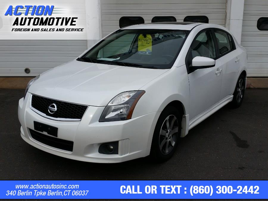 Used Nissan Sentra 4dr Sdn I4 CVT 2.0 S 2012 | Action Automotive. Berlin, Connecticut