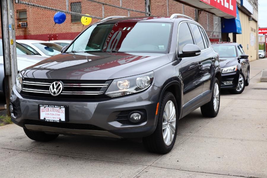 Used Volkswagen Tiguan 4MOTION 4dr Auto R-Line 2015   Hillside Auto Mall Inc.. Jamaica, New York