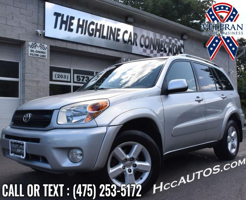 Used Toyota RAV4 4dr Auto 4WD 2004 | Highline Car Connection. Waterbury, Connecticut