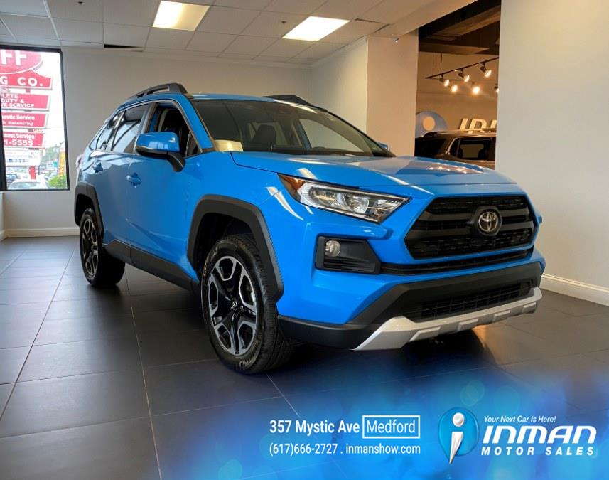 Used Toyota RAV4 Adventure AWD (Natl) 2021   Inman Motors Sales. Medford, Massachusetts