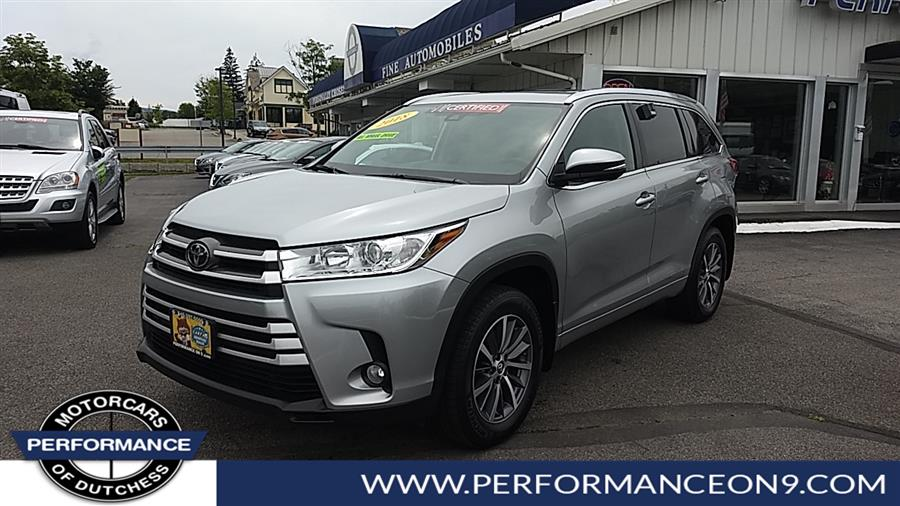 Used 2018 Toyota Highlander in Wappingers Falls, New York | Performance Motorcars Inc. Wappingers Falls, New York