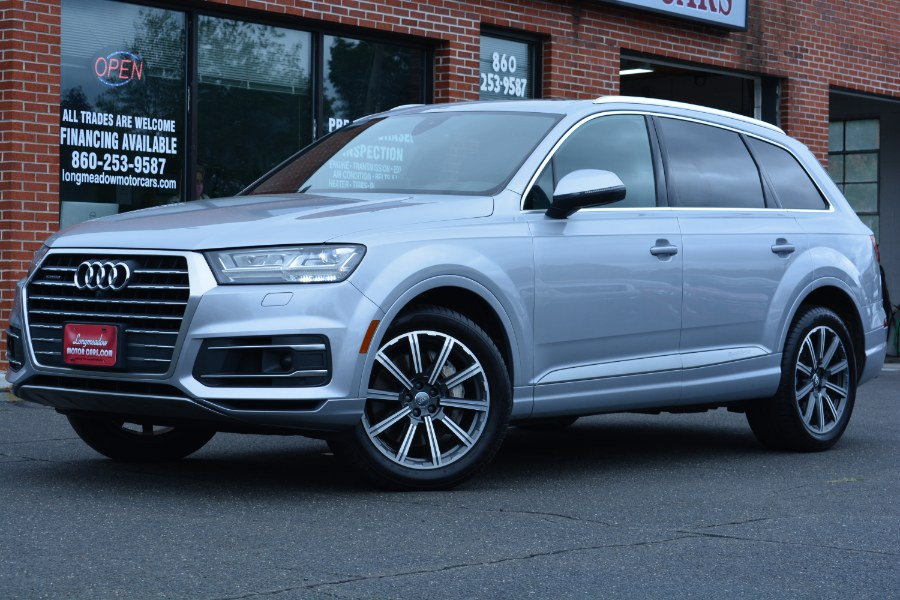 Used 2017 Audi Q7 in ENFIELD, Connecticut | Longmeadow Motor Cars. ENFIELD, Connecticut