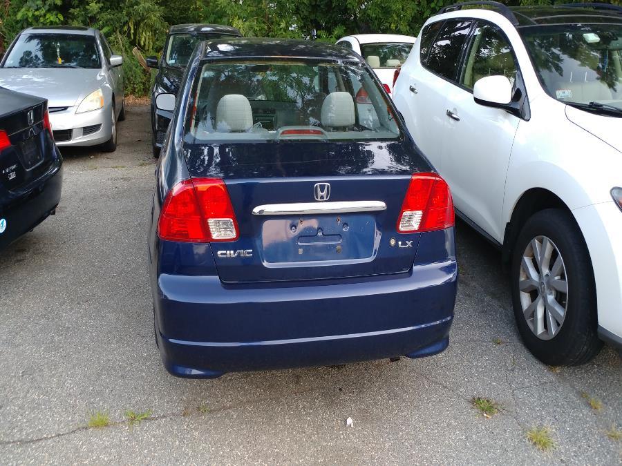 Used Honda Civic Sdn LX AT SE 2005 | Matts Auto Mall LLC. Chicopee, Massachusetts