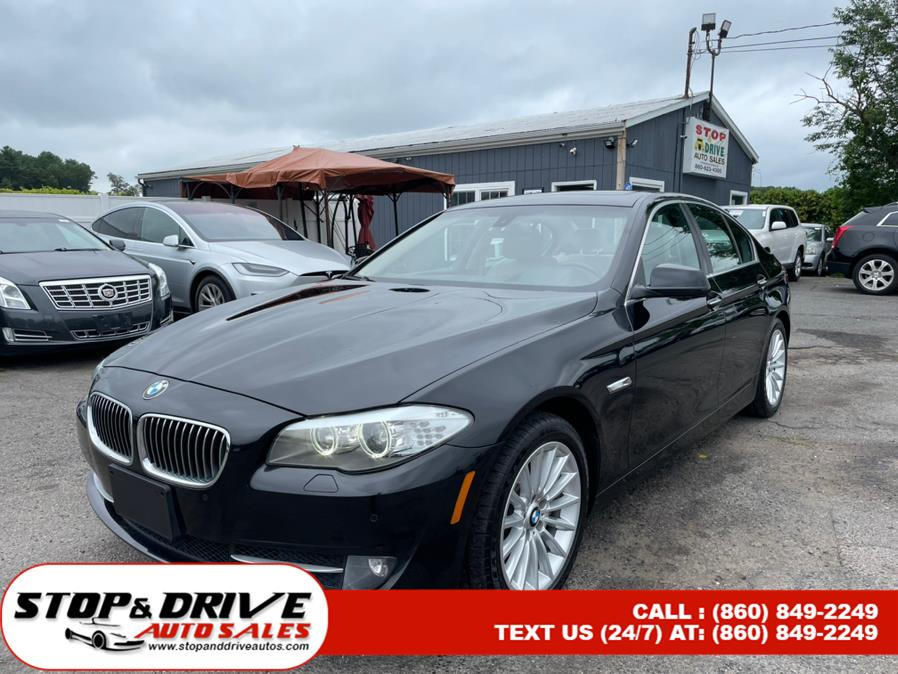 Used 2013 BMW 5 Series in East Windsor, Connecticut | Stop & Drive Auto Sales. East Windsor, Connecticut