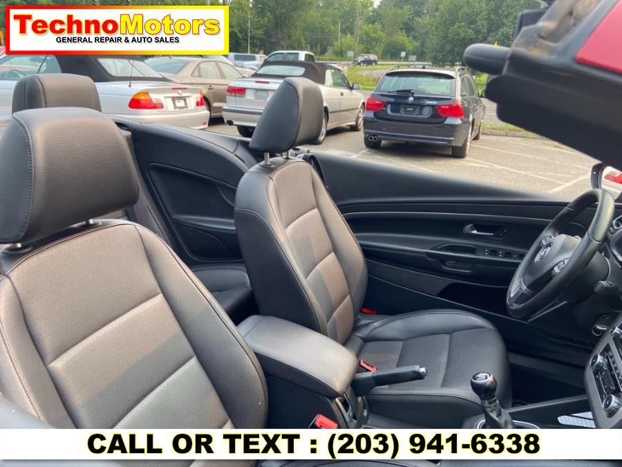 Used Volkswagen Eos 2dr Conv Manual Komfort SULEV 2011   Techno Motors . Danbury , Connecticut