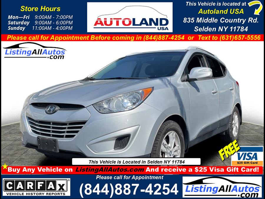Used 2012 Hyundai Tucson in Patchogue, New York | www.ListingAllAutos.com. Patchogue, New York