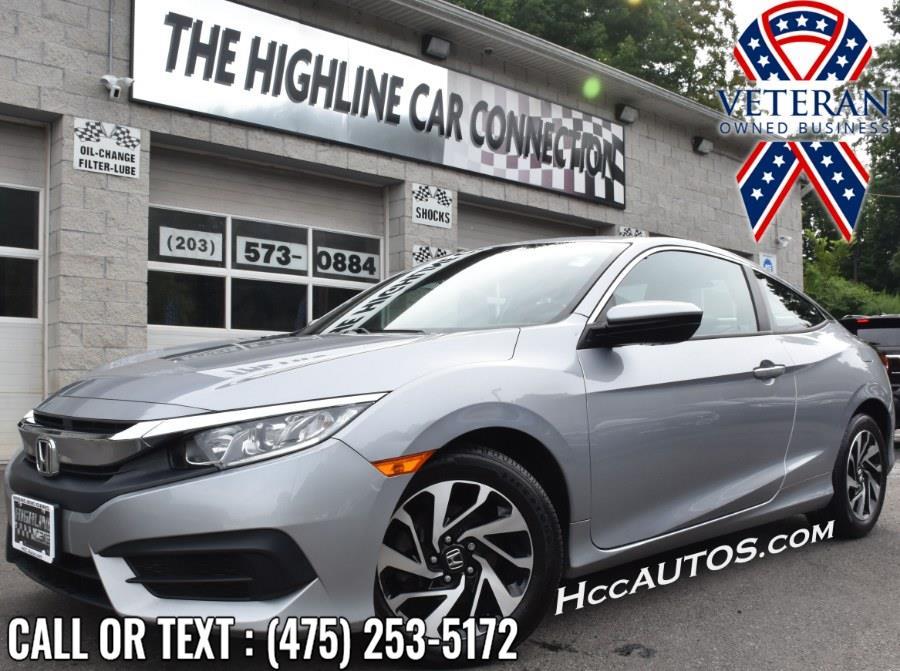 Used 2018 Honda Civic Coupe in Waterbury, Connecticut | Highline Car Connection. Waterbury, Connecticut