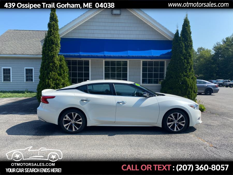 Used Nissan Maxima 4dr Sdn 3.5 SV 2016   Ossipee Trail Motor Sales. Gorham, Maine
