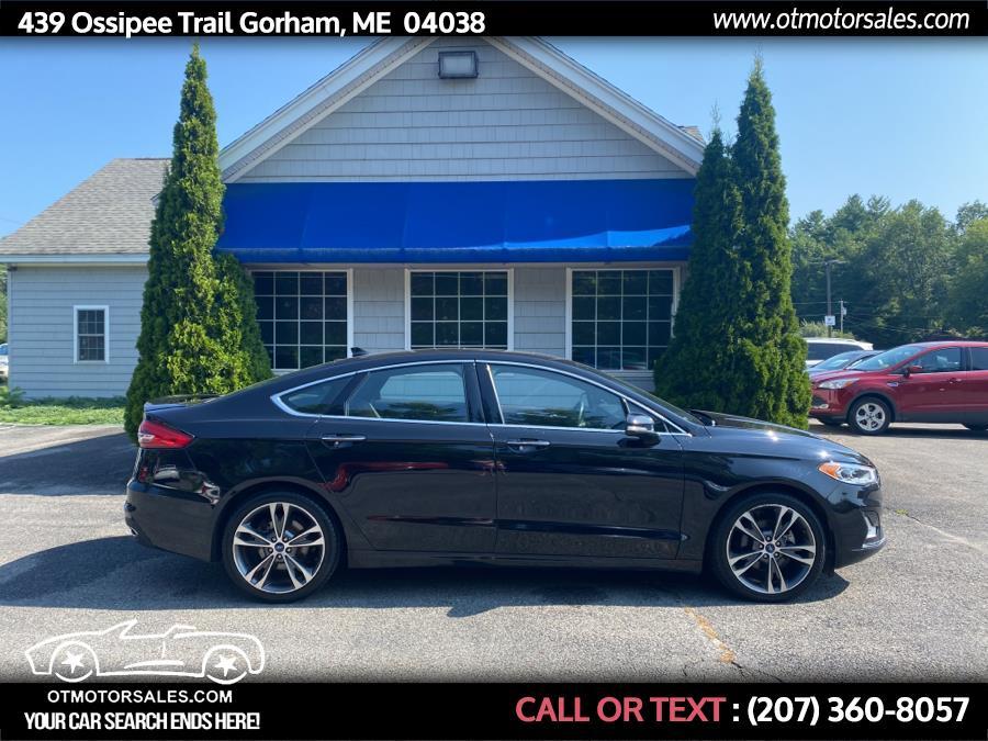 Used Ford Fusion Titanium FWD 2019 | Ossipee Trail Motor Sales. Gorham, Maine