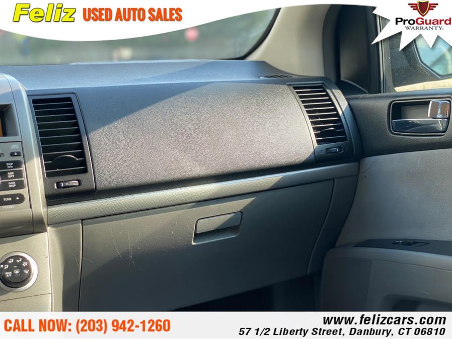 Used Nissan Sentra 4dr Sdn I4 CVT 2.0 SR FE+ 2009   Feliz Used Auto Sales. Danbury, Connecticut