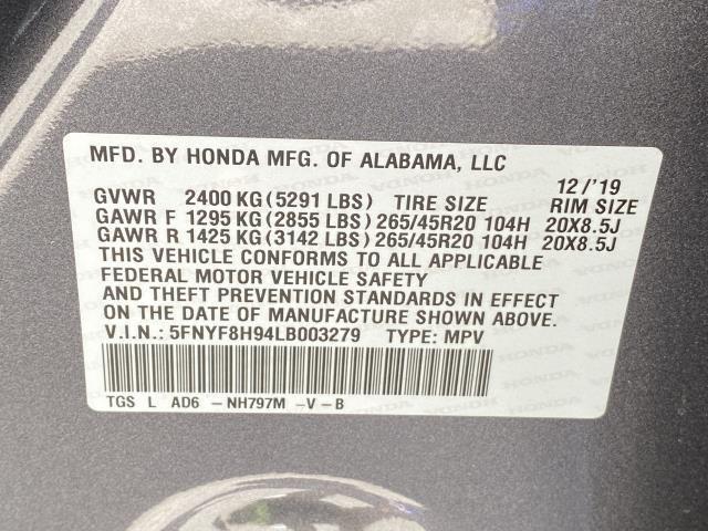 Used Honda Passport Touring 2020   Eastchester Motor Cars. Bronx, New York