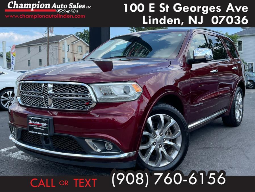 Used 2017 Dodge Durango in Linden, New Jersey | Champion Used Auto Sales. Linden, New Jersey