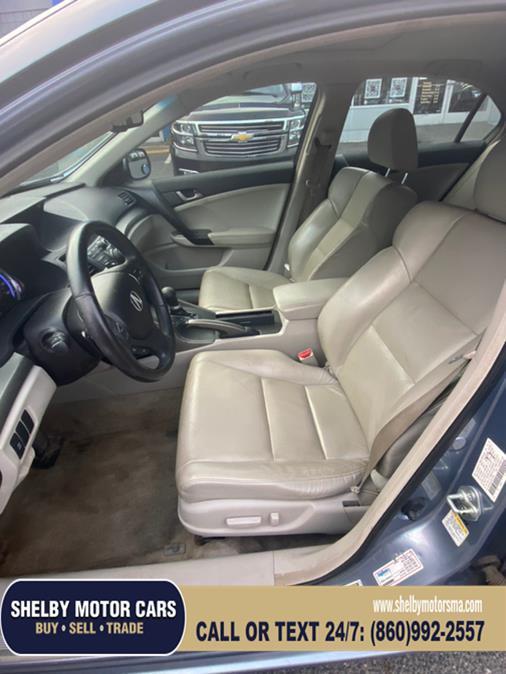 Used Acura TSX 4dr Sdn Auto Tech Pkg 2009 | Shelby Motor Cars. Springfield, Massachusetts
